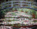 Japanese Footbridge painting by Claude Monet at National Gallery of Art. Washington, DC.