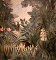 Equatorial Jungle painting by Henri Rousseau at National Gallery of Art. Washington, DC.