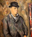 Portrait of artist's son, Paul by Paul Cézanne at National Gallery of Art. Washington, DC.