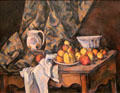 Still Life with Apples & Peaches painting by Paul Cézanne at National Gallery of Art. Washington, DC.