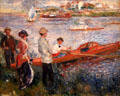 Oarsmen at Chatou painting by Auguste Renoir at National Gallery of Art. Washington, DC.