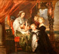 Deborah Kip, Wife of Sir Balthasar Gerbier, & Her Children painting by Peter Paul Rubens at National Gallery of Art. Washington, DC.