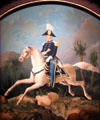 Zachary Taylor on horseback portrait by James Walker at National Portrait Gallery. Washington, DC.