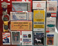 Presidential convention press passes at Newseum. Washington, DC.