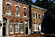 Brick building at 307-309 South State Street where US Constitution was first ratified. Dover, DE.