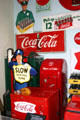 1950's Coke machines at Coca-Cola Museum. Atlanta, GA.