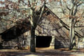 Heritage barn at Stone Mountain Park Antebellum Plantation. Atlanta, GA.