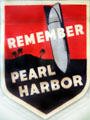 Remember Pearl Harbor design at Arizona Memorial museum. Honolulu, HI.
