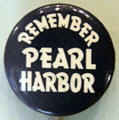 Remember Pearl Harbor button at Arizona Memorial museum. Honolulu, HI.