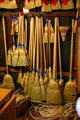 Brooms in broom shop. West Amana, IA.