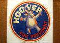 Hoover for President elephant at Hoover Museum. West Branch, IA.