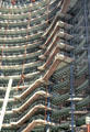 Balcony walkways around atrium of James R. Thompson Center. Chicago, IL.