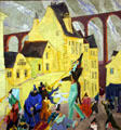 Painting by Lyonel Feininger