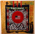 Cycle of Nam painting by Joe Metz, Jr. at National Vietnam Veterans Art Museum. Chicago, IL.