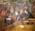 Moulin de la Galette painting by Henri de Toulouse-Lautrec at Art Institute of Chicago. Chicago, IL.