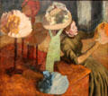 The Millinery Shop painting by Edgar Degas at Art Institute of Chicago. Chicago, IL.