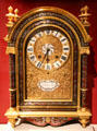 Nicolas Gribelin table clock with case attrib. André-Charles Boulle from Paris at Art Institute of Chicago. Chicago, IL.