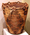 Klikitat tribe berry-gathering basket from Columbia River Valley of Washington at Art Institute of Chicago. Chicago, IL.