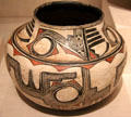 Zuni ceramic polychrome jar from Zuni Pueblo, NM at Art Institute of Chicago. Chicago, IL.
