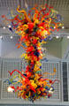 Confetti Chandelier by Dale Chihuly at Wichita Art Museum. Wichita, KS.