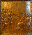 The Convention of 1861 In Baton Rouge bronze door panel in Louisiana State Capitol. Baton Rouge, LA.