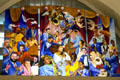 Musical mural at New Orleans Airport. New Orleans, LA.