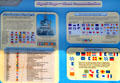 Signal flag chart of Battleship Massachusetts. Fall River, MA.