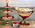 Porcelain tea service by Louis Andre & Co. of France at Rotch-Jones-Duff House. New Bedford, MA.