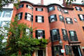 Phineas Sprague House in Beacon Hill. Boston, MA.