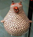 Zuni ceramic owl (c1953) at Peabody Museum. Cambridge, MA.