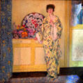 Yellow Room painting by Frederick Carl Frieseke at Museum of Fine Arts. Boston, MA.