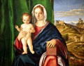 Madonna & Child painting by Giovanni Bellini at Detroit Institute of Arts. Detroit, MI.