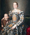 Eleonora of Toledo & Her Son painting by Agnolo Bronzino at Detroit Institute of Arts. Detroit, MI.