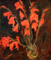 Red Gladioli painting by Chaim Soutine at Detroit Institute of Arts. Detroit, MI.