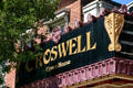 Marquee of Croswell Opera House. Adrian, MI.