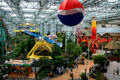 Amusement park of Mall of America. Minneapolis, MN.