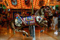 Indian pony on carousel in Mall of America. Minneapolis, MN.