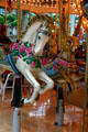 Horse & rabbit on carousel in Mall of America. Minneapolis, MN.