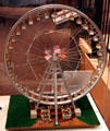 Model of St Louis World's Fair Observation Wheel at Missouri History Museum. St. Louis, MO.