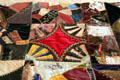 Crazy quilt at Chatillon-DeMenil Mansion. St. Louis, MO.