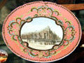 Electricity Building souvenir plate from 1904 St. Louis World's Fair at Chatillon-DeMenil Mansion. St. Louis, MO.
