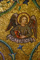 Angel symbol of Evangelist Mathew at Saint Louis Cathedral. St Louis, MO.