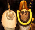 Cavalry Dress Helmets at Jefferson Barracks Military Museum. St. Louis, MO.