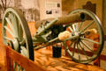 Buehrles' Gun, captured in Mexico, once fired every Fourth of July at Missouri State Capitol. Jefferson City, MO.