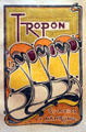 Tropon poster by Henry van de Velde at Nelson-Atkins Museum. Kansas City, MO.
