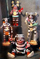 Hopi hano clowns at Museum of Anthropology of University of Missouri. Columbia, MO.