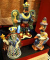 Fairytale figurines by Walter Anderson at Museum of Mississippi History. Jackson, MS.
