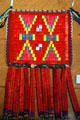 Sioux quillwork pouch at Montana Historical Society museum. Helena, MT.