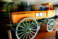 Dray wagon used in the millions for deliveries in cities until the 1920s at Warp Pioneer Village. Minden, NE.