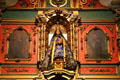 La Conquistadora in a chapel of her name at St. Francis Cathedral. Santa Fe, NM.